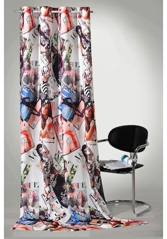 Weckbrodt Vorhang »High Fashion«, HxB: 245x140, Metallösen kaufen