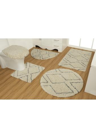 Leonique Badematte »Esmira«, Höhe 40 mm, strapazierfähig, aus recycelter Baumwolle kaufen