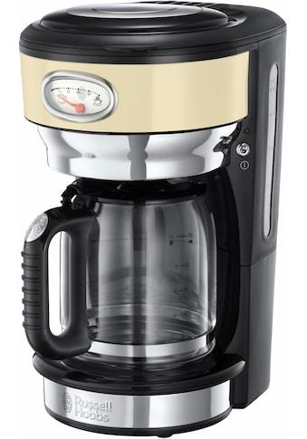 RUSSELL HOBBS Filterkaffeemaschine »Retro Vintage Cream 21702-56«, Papierfilter, 1x4,... kaufen
