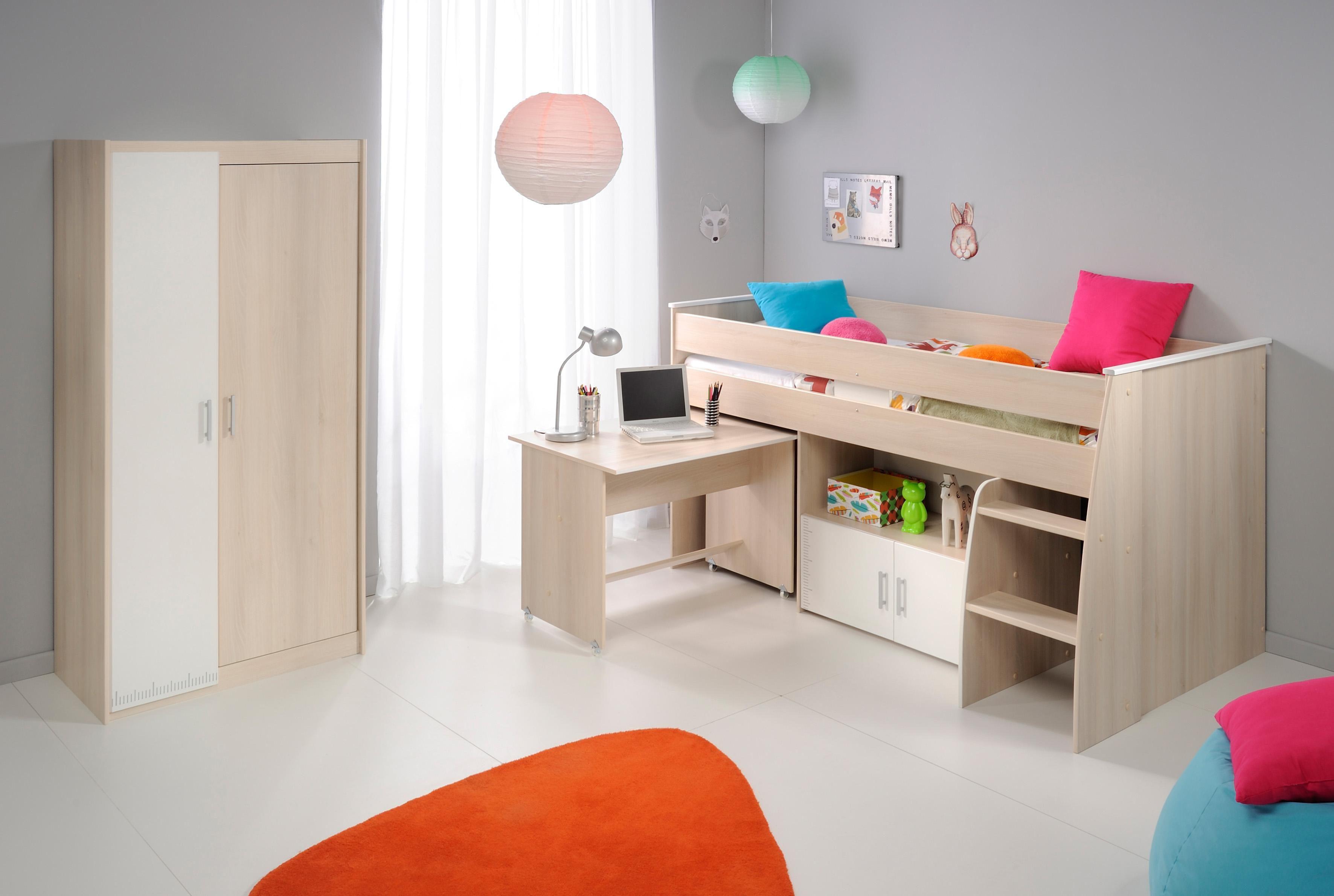 Parisot Jugendzimmer-Set »Charly« (Set, 3-tlg) | Kinderzimmer > Jugendzimmer > Komplett-Jugendzimmer | Parisot