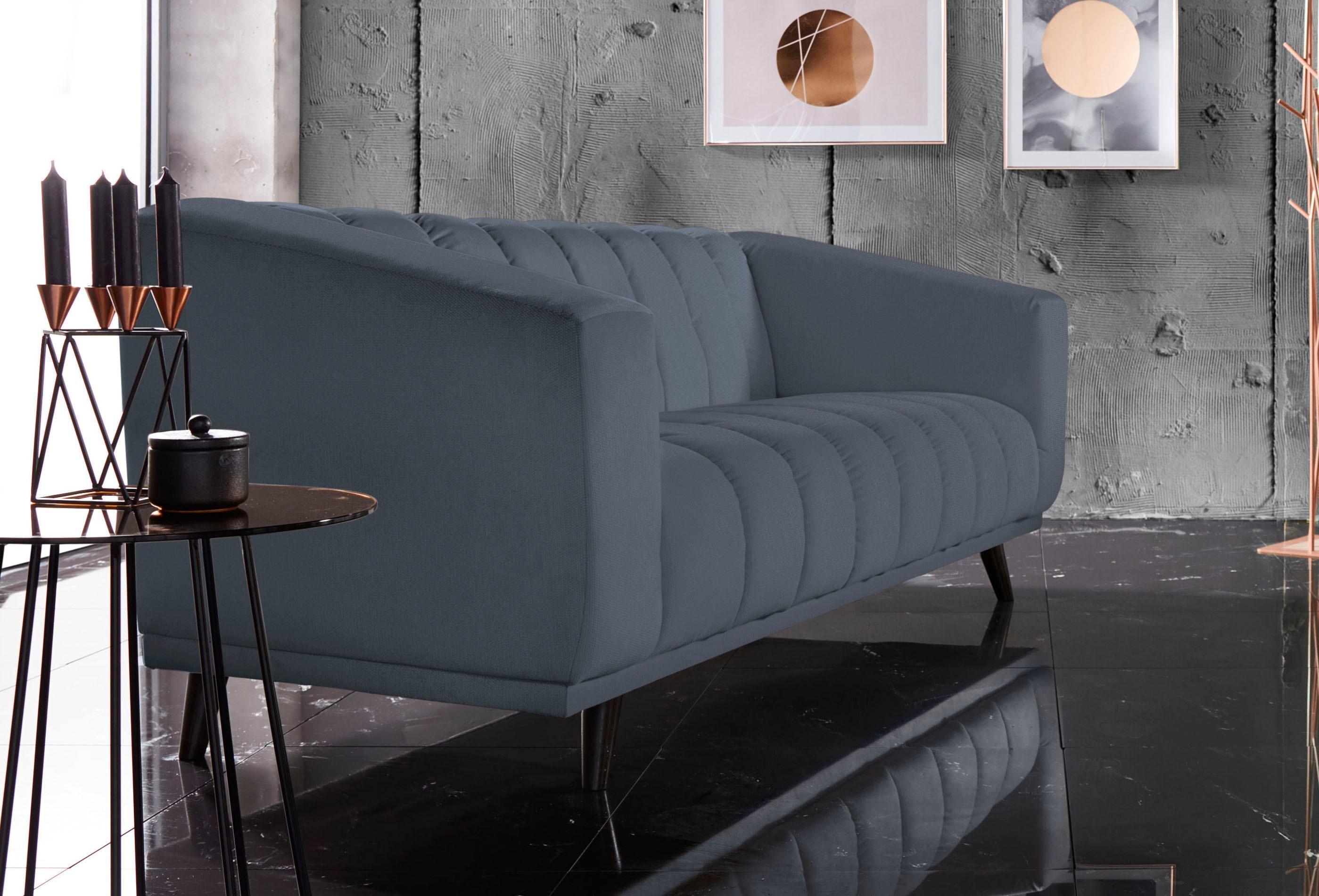 grau-samt 2 & 3 Sitzer Sofas online kaufen | Möbel-Suchmaschine ...