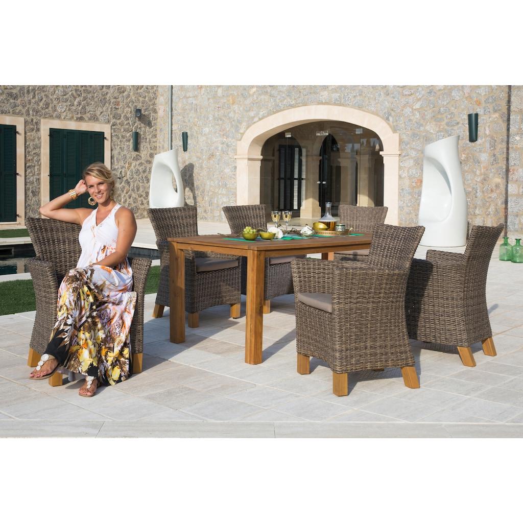 MERXX Gartentisch »Toskana«, 90x185 cm