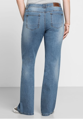Sheego Stretch-Jeans, MAILA in Bootcut-Form kaufen
