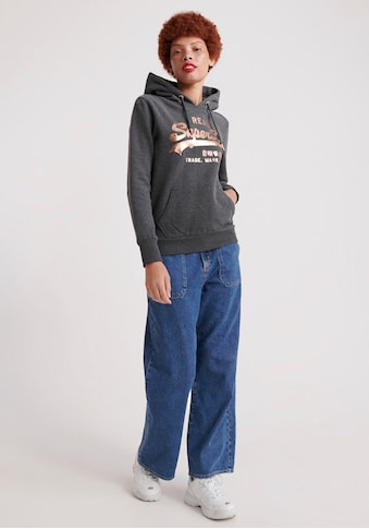 Superdry Kapuzensweatshirt »V LOGO METALWORK ENTRY HOOD« kaufen