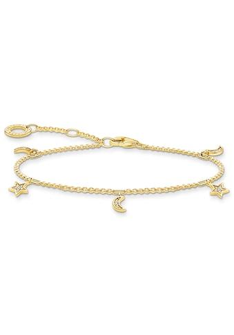 THOMAS SABO Armband »Stern & Mond, A1994-414-14-L19v«, mit Zirkonia kaufen