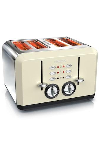 Arendo Toaster im Edelstahlgehäuse für 4 Scheiben kaufen