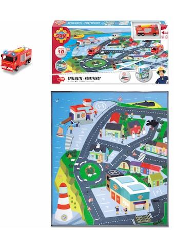 Krabbeldecke »Feuerwehrmann Sam Playmat«, Dickie Toys kaufen