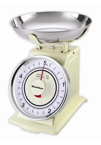 Karcher Küchenwaage »WAK 811«, im Retro-Design kaufen