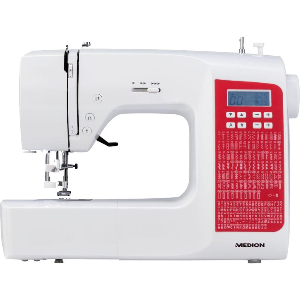 Medion® Computer-Nähmaschine »MD 18080«, Freiarm- Funktion