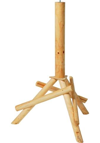 DOBAR Vogelhaus - Ständer , BxTxH: 65x60x100 cm, braun kaufen