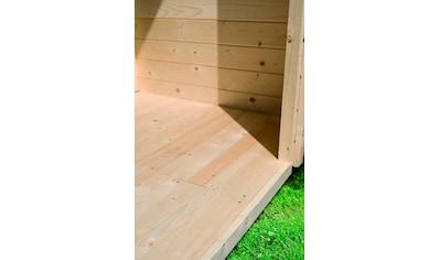 KONIFERA Fußboden für Gartenhäuser , BxT: 240x240 cm kaufen
