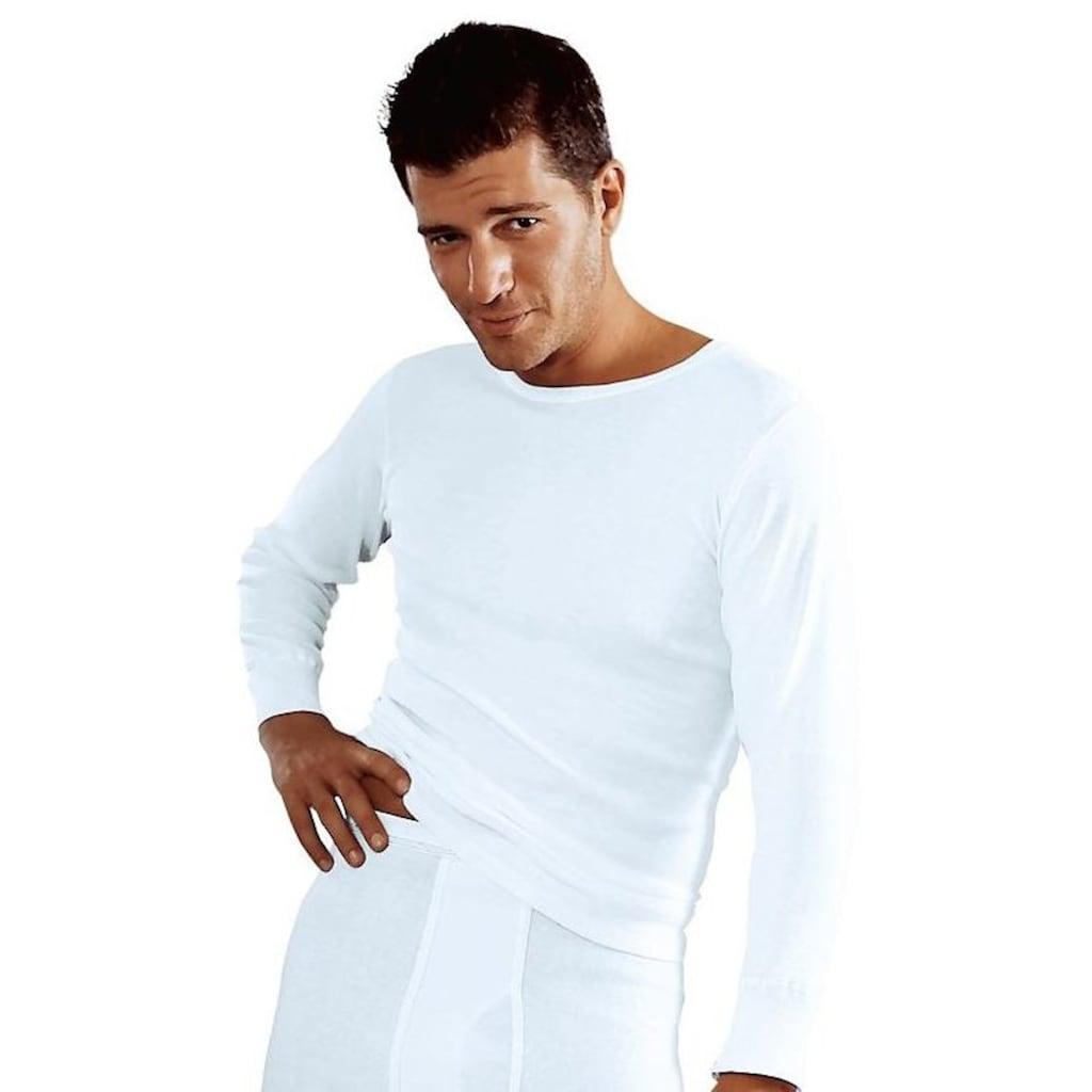 Clipper Unterhemd, (2 St.), schlichtes Basic für jeden Tag - in Doppelripp