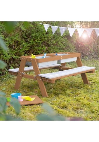 roba® Kindersitzgruppe »PICKNICK for 4' Outdoor +«, mit Spielwanne kaufen