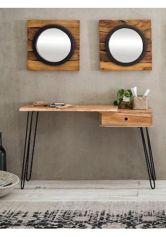 SIT Konsolentisch »Edge«, mit modernen Hairpin Tischbeinen, auch als Schminktisch,... kaufen