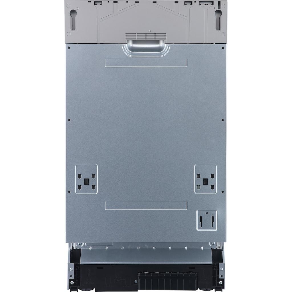 Hanseatic vollintegrierbarer Geschirrspüler »HGVI4582D10J7714GS«, HGVI4582D10J7714GS, 10 Maßgedecke