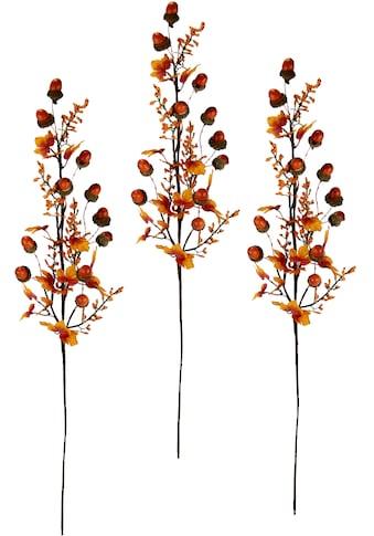 I.GE.A. Kunstzweig »Herbstzweige«, Mit Eicheln, Beeren und Herbstlaub, 3er Set kaufen