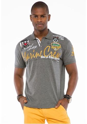 Cipo & Baxx Poloshirt »Crew Polo« kaufen