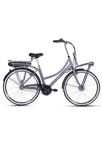 LLobe E-Bike »Rosendaal Lady 10,4 Ah«, 3 Gang, Frontmotor 250 W, Gepäckträger vorne kaufen