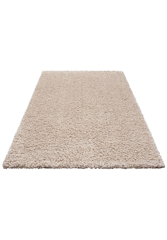 Hochflor - Teppich, »Florenz«, Home affaire, rechteckig, Höhe 45 mm, maschinell gewebt kaufen