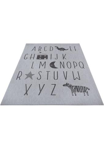 Kinderteppich, »Alphabet«, Lüttenhütt, rechteckig, Höhe 3 mm kaufen