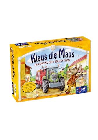 Huch! Spiel »Klaus die Maus entdeckt den Bauernhof«, Made in Germany kaufen