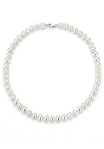 Firetti Perlenkette »rhodiniert, massiv, rund, stilvolles Design«, mit... kaufen