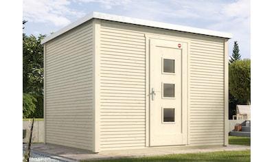 WEKA Gartenhaus »wekaLine 413 Gr.1«, BxT: 260x260 cm, inkl. Fußboden und Dachbahn kaufen