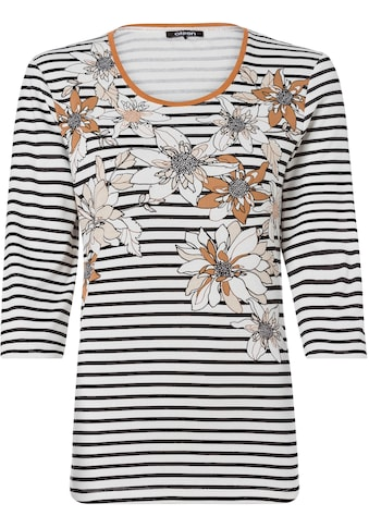 Olsen Print-Shirt, mit Streifen- und Blüten-Druck kaufen