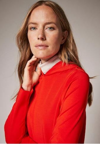 Comma Kapuzenshirt, aus elastischem Lyocell-Mix kaufen