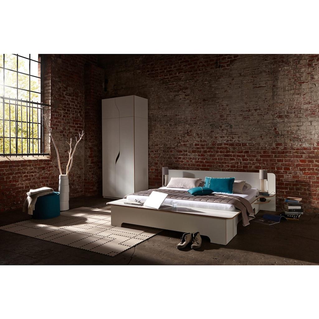 Müller SMALL LIVING Kleiderschrank »PLANE Ausstattung Nr. 3«, Inklusive einer innenliegenden Tür, einer Kleiderstange und 12 Fächern