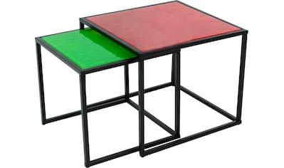 Paroli Couchtisch, (Set, 2 St.), quadra kaufen