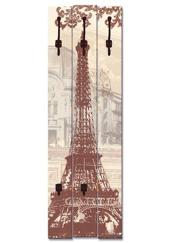 Artland Garderobenpaneel »Paris Collage« kaufen