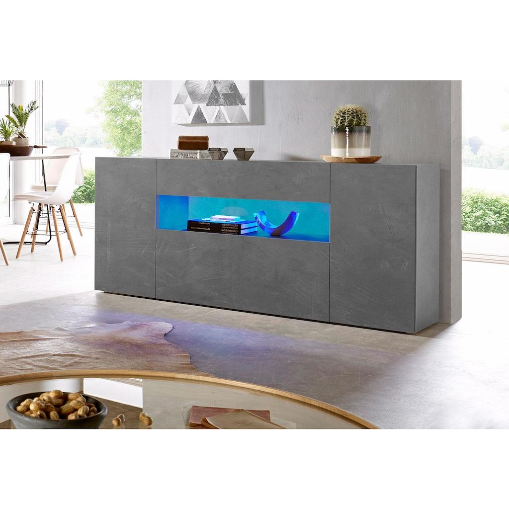 Tecnos Sideboard »Potenza«, Breite 180 cm, ohne Beleuchtung