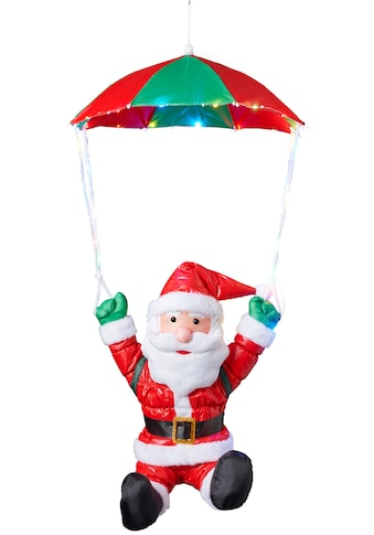 BONETTI LED Dekofigur »Weihnachtsmann mit Fallschirm« kaufen