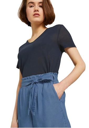 TOM TAILOR Denim Shorts, mit Bindegürtel kaufen
