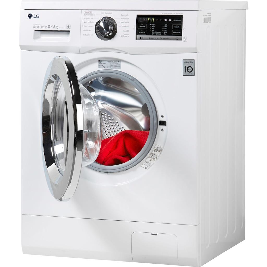 LG Waschtrockner F14G6TDM2NH, 8 kg / 5 kg, 1400 U/Min