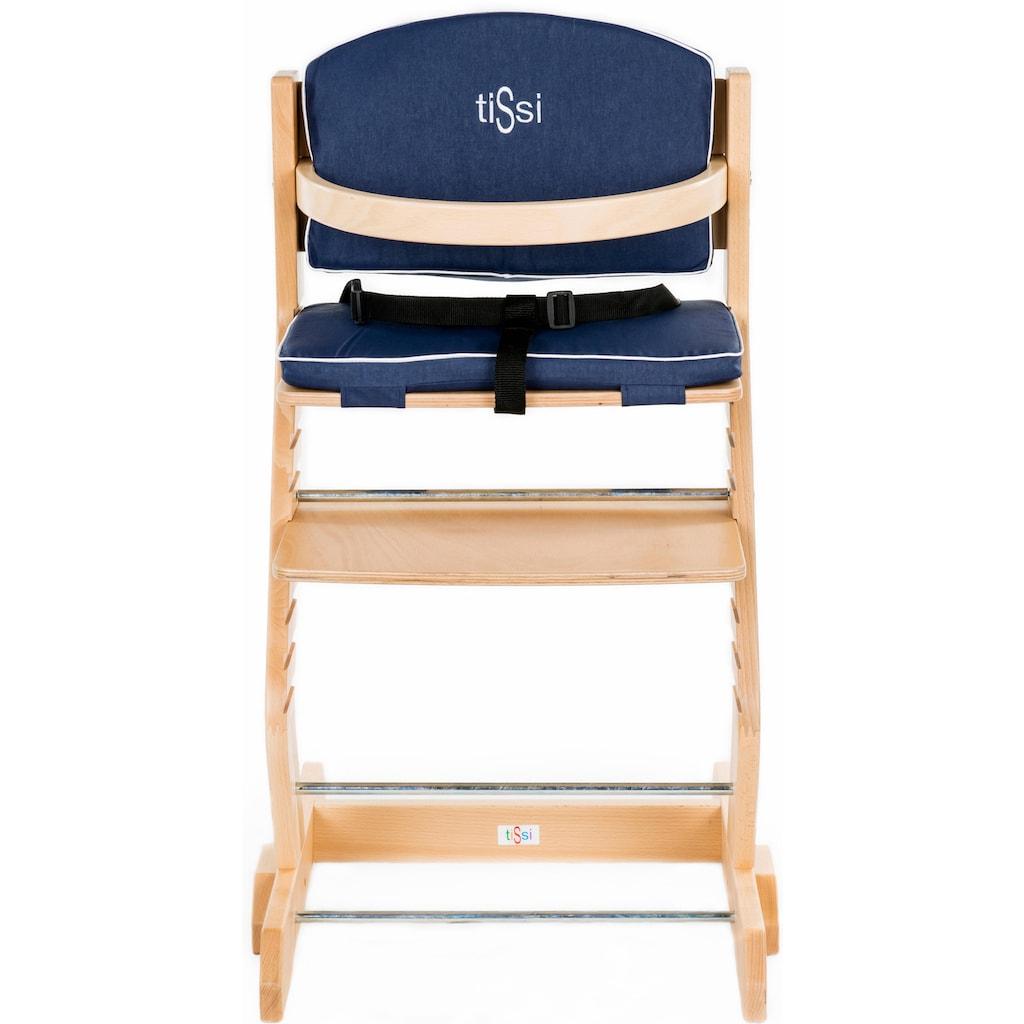 tiSsi® Kinder-Sitzauflage »Blau«, für tiSsi® Hochstuhl; Made in Europe