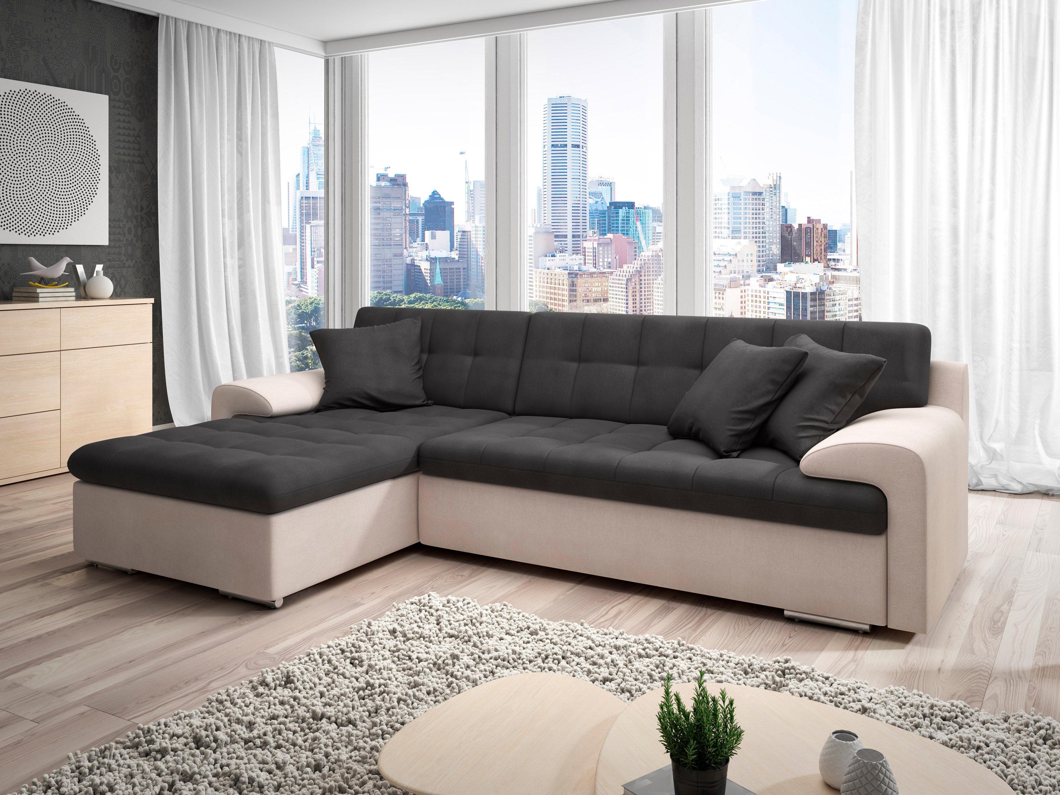 trendmanufaktur ecksofa auf rechnung bestellen. Black Bedroom Furniture Sets. Home Design Ideas