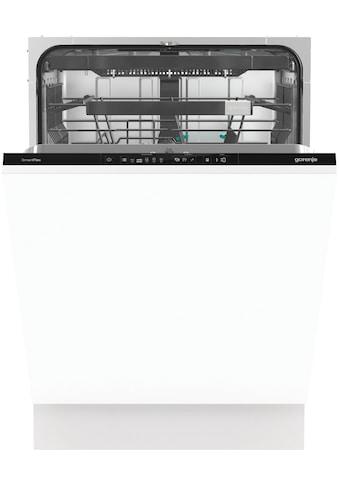 GORENJE vollintegrierbarer Geschirrspüler »GV671C60XXL«, SmartFlex, GV671C60XXL, 16... kaufen