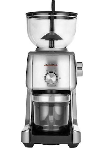 Gastroback Kaffeemühle »42642 Design Advanced Plus«, 130 W, 400 g Bohnenbehälter kaufen