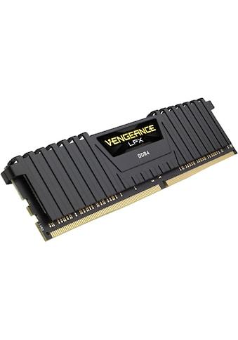 Corsair »VENGEANCE® LPX 32 GB (4 x 8 GB) DDR4 DRAM 3200MHz C16« PC - Arbeitsspeicher kaufen