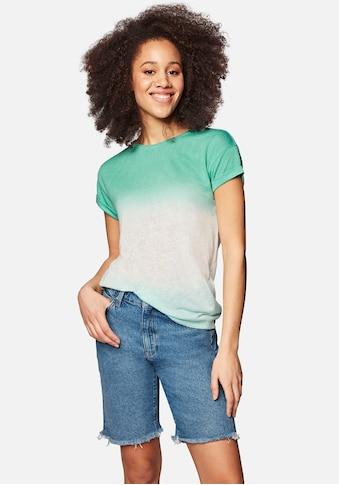 Mavi T-Shirt »TIE DYE TOP«, im stylischen Batik Muster kaufen