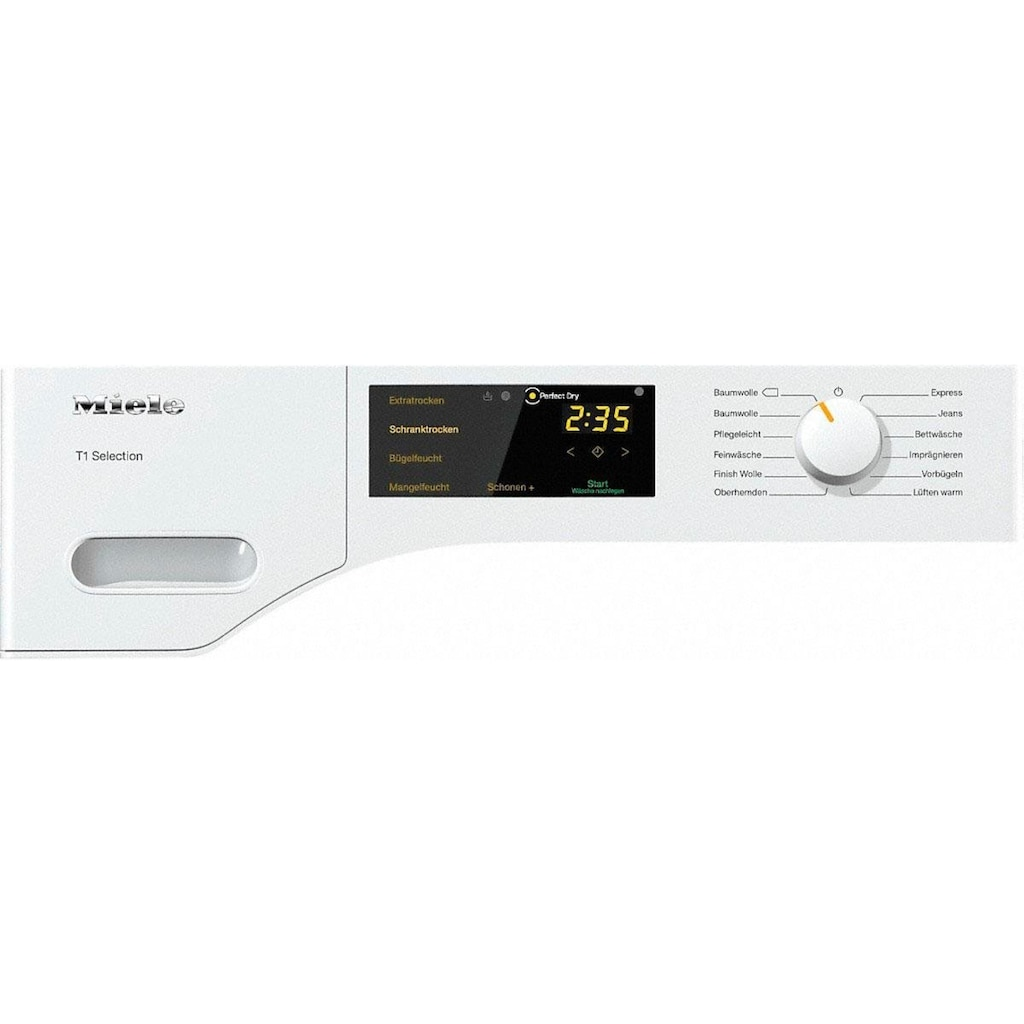 Miele Wärmepumpentrockner »TSB143 WP«, T1 White Edition