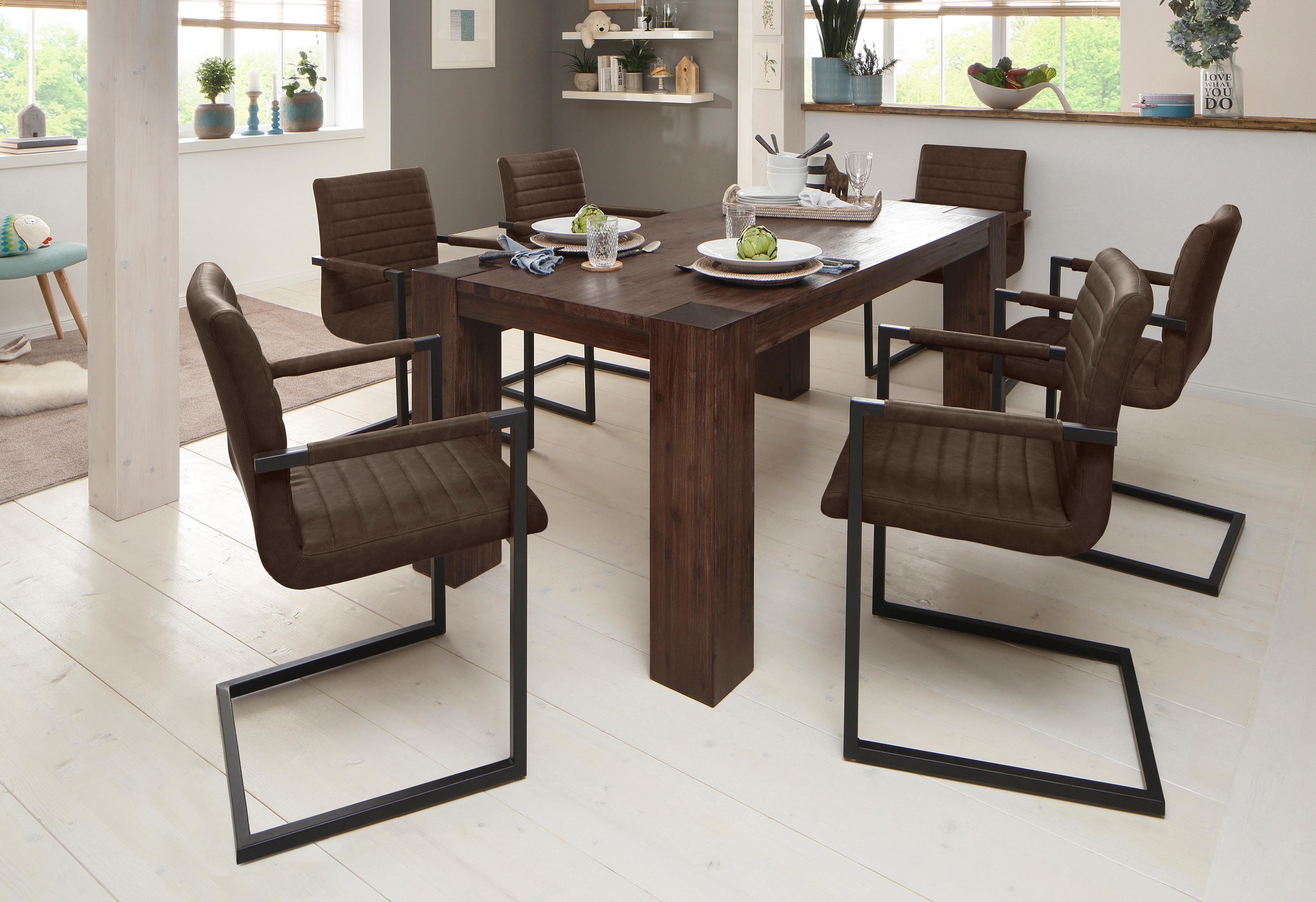 braun-holz Esszimmerstühle online kaufen | Möbel-Suchmaschine ...