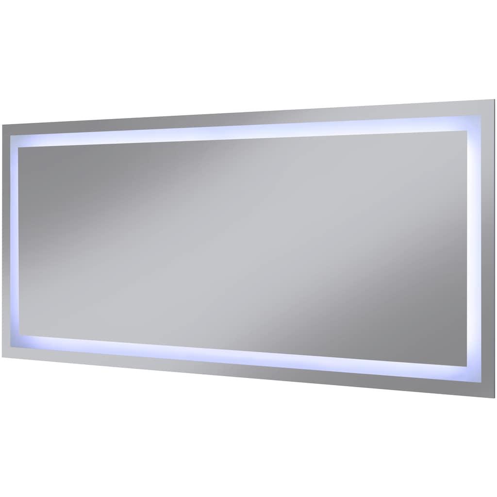 welltime Badspiegel »Trento«, LED-Spiegel, 140 x 60 cm