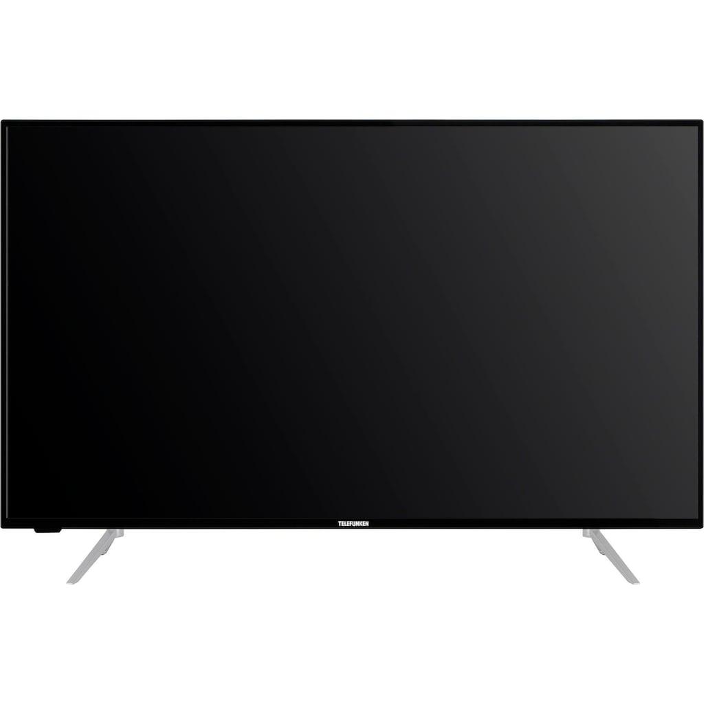 "Telefunken LED-Fernseher »D43V800M4CWH«, 108 cm/43 "", 4K Ultra HD, Smart-TV, 36 Monaten Herstellerlangzeitgarantie"