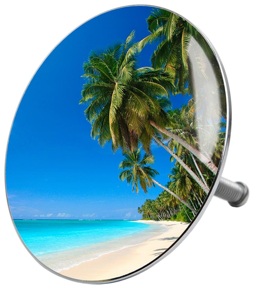 SANILO Stöpsel »Karibik«, für Badewannen und Duschen, Ø 7, 2 cm | Bad > Duschen > Duschen | Blau | SANILO