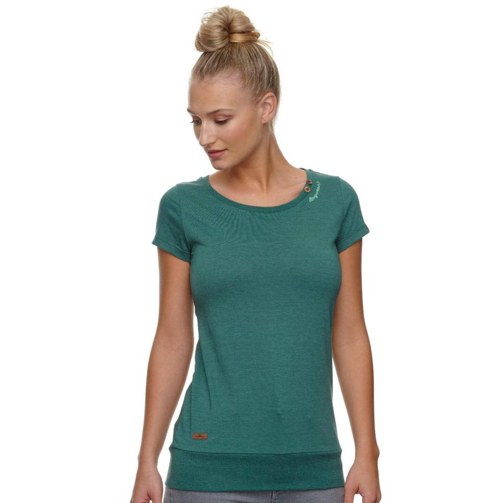 Ragwear Longshirt »LESLY«, mit extra breitem Saumabschluss