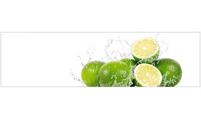 Küchenrückwand  -  Spritzschutz »profix«, Aqua - Limette, 220x60 cm kaufen