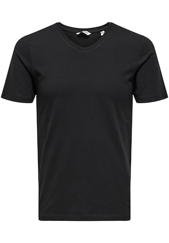 ONLY & SONS V - Shirt »BASIC V - NECK 3 PACK« kaufen